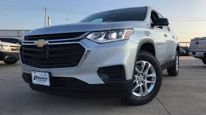 chevrolet traverse blue the redesigned 2018 chevrolet traverse ls 3 6l v6 review youtube