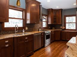 Kitchen Floor Ideas With Dark Cabinets Kitchen Counter Backsplashes Pictures U0026 Ideas From Hgtv Hgtv