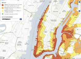 map of nyc areas zone a evacuation cities areas for hurricane irene business insider