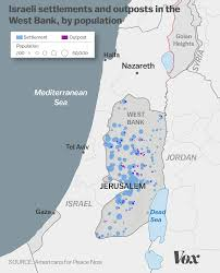 Israel World Map The Growth Of Israeli Settlements Explained In 5 Charts Vox