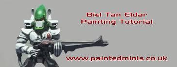 biel tan eldar painting tutorial youtube