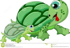 turtle family frame invitation card stock image image 29243391
