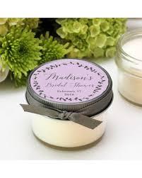 personalized candle favors don t miss this bargain bridal shower favor candles laurel label