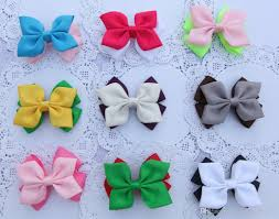 ribbon for hair 3 5 4 baby ribbon bows with clip grosgrain hair hair bows
