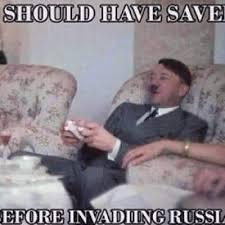 Putin Meme - putin memes warning savegame before invading russia facebook