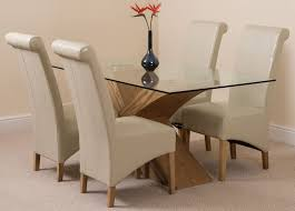 dining table with leather chairs with ideas hd photos 53999 zenboa