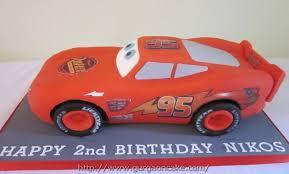 lightning mcqueen birthday cake asda picture birthday cake