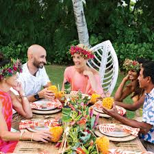 hawaii for thanksgiving how to host a tropical thanksgiving coastal living