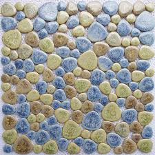 Aliexpresscom  Buy Classical Porcelain Pebble Mosaic Tile - Pebble backsplash
