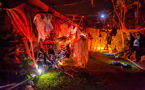 halloween haunted yard 2014 one last time brian e powers
