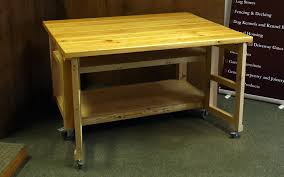 butcher block table the wooden workshop oakford devon