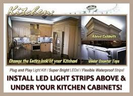 best cabinet kitchen led lighting what led light strips or ropes are best to install