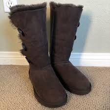 do womens ugg boots run big ugg ugg bailey button triplet womens boots run big from