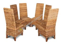 lovely rattan dining room chairs for your home decorating ideas