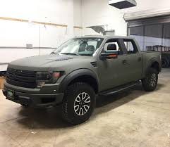 starwood motors kevlar paint custom tactical green ford raptor ready to get a supercharger