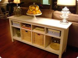 Storage Behind Sofa Sofa Wonderful Sofa Table With Storage Tables Sofa Table With