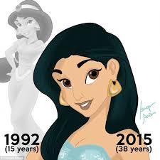 disney princesses ariel snow white drawn