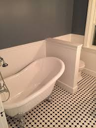 how to seal grout for a midcentury bathroom with a floor tiles and