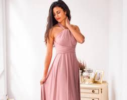 Light Pink Bridesmaid Dress Bridesmaid Dress Blush Bridesmaid Dress Powder Pink Maxi