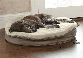 Memory Foam Dog Bed Round Memory Foam Dog Bed Topper Orvis