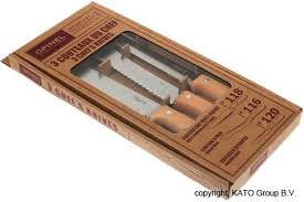 opinel kitchen knives uk opinel t015016 kitchen knife set knivesandtools co uk