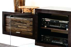 tv stand 58 wood tv stand with fireplace in espresso awesome