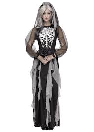 halloween spirit costumes bride of the night skeleton woman costume schoolcostumes org