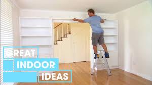 diy custom wall storage indoor great home ideas youtube