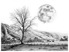 resultado de imagem para beautiful pencil drawings of scenery