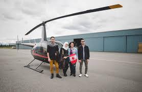 syrian refugees get an extraordinary sky high u0027welcome to canada u0027