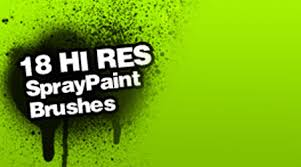 Photoshop Spray Paint - 250 free photoshop spray brushes blueblots com
