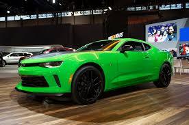 green camaro ss 2017 chevrolet camaro ss 1le v 6 1le revealed for chicago
