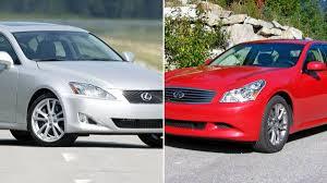 lexus gs300 vs infiniti g35 what 10 year old luxury sports sedans should i consider buying