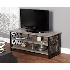 Metal And Wood Furniture Belham Living Edison Reclaimed Wood Tv Stand Hayneedle