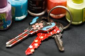 how to color code your keys using nail polish 5 steps