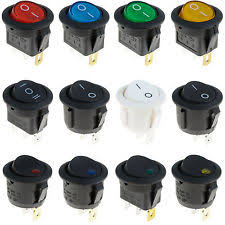 lighted rocker switch 12v illuminated rocker switch ebay