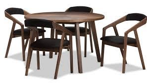 Century Dining Room Tables Corrigan Studio Averi Mid Century Modern 5 Breakfast Nook