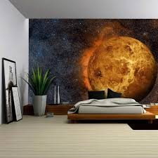 outer space bedroom ideas accessories large venus decal outer space bedroom ideas 49