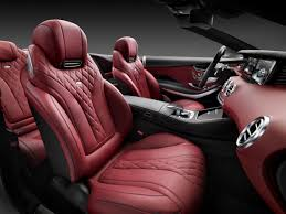 convertible mercedes red the all new s class cabriolet interior mercedes benz of scottsdale