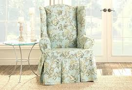 chair slipcovers canada wingback chair slipcover slipcover for chair sure fit category