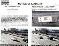 red light camera violation nyc new york red light camera tickets a rowboat