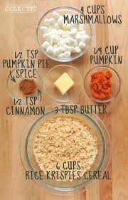 rice krispie treats for thanksgiving pumpkin spice krispie treats a festive treat in 10 minutes