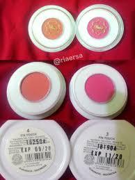 Eyeshadow Viva Warna hai viva blush on fin touch no 3 dan 4