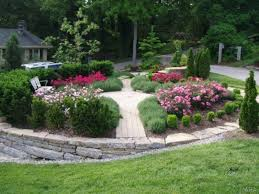 Backyard Design Ideas Triyae Com U003d Rock Garden Ideas For Backyard Various Design