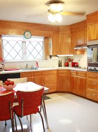 frances and doug u0027s warm and inviting restored 1950s wood kitchen