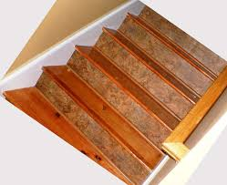 Stair Protectors by Decorating Carpet Stair Treads Caramel Scroll Border With Black