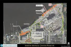 Map Of Stuart Florida by Construction In And Around Emergency Department At Martin Medical