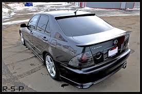 lexus is200 australia roof spoiler altezza club of nz australia