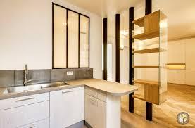 cuisine appartement rénovation appartement cuisine ouverte monceau 2 ré