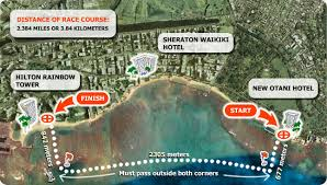 map of waikiki waikiki roughwater swim